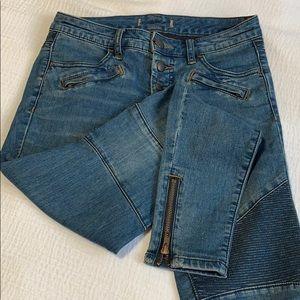 Free People Moto Jeans
